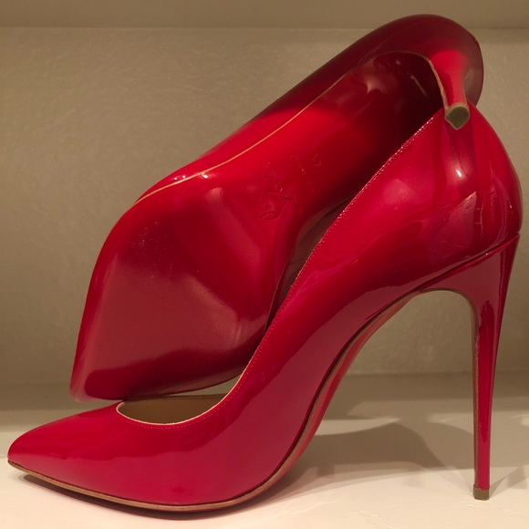 7d3ad205168 Christian Louboutin Pigalle Follies - sz 41 - Red NWT